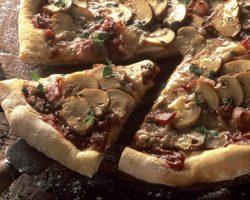 Pizzadej med durummel