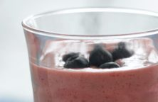 Blåbær smoothie