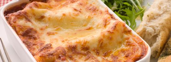 Klassisk italiensk lasagne