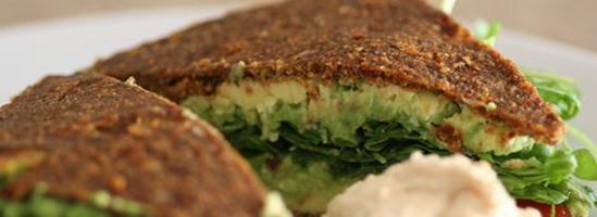 Raw food brød